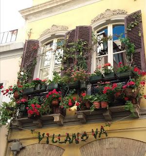 Che belli i balconi fioriti!
