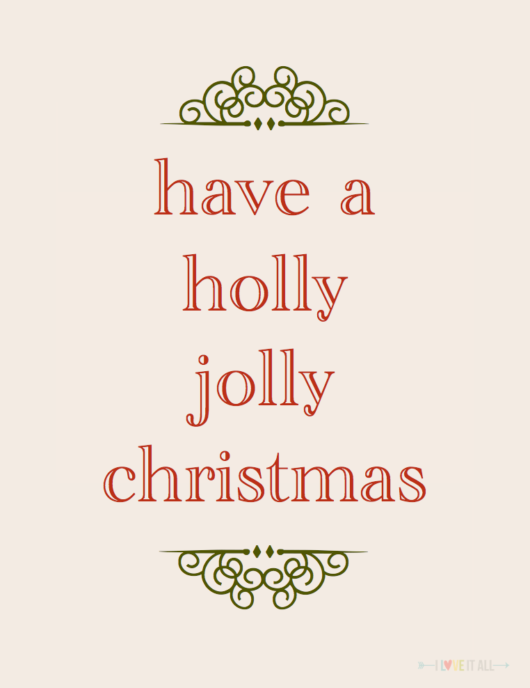 #christmas #download #jolly #projectlife #scrapbooking #printable #free