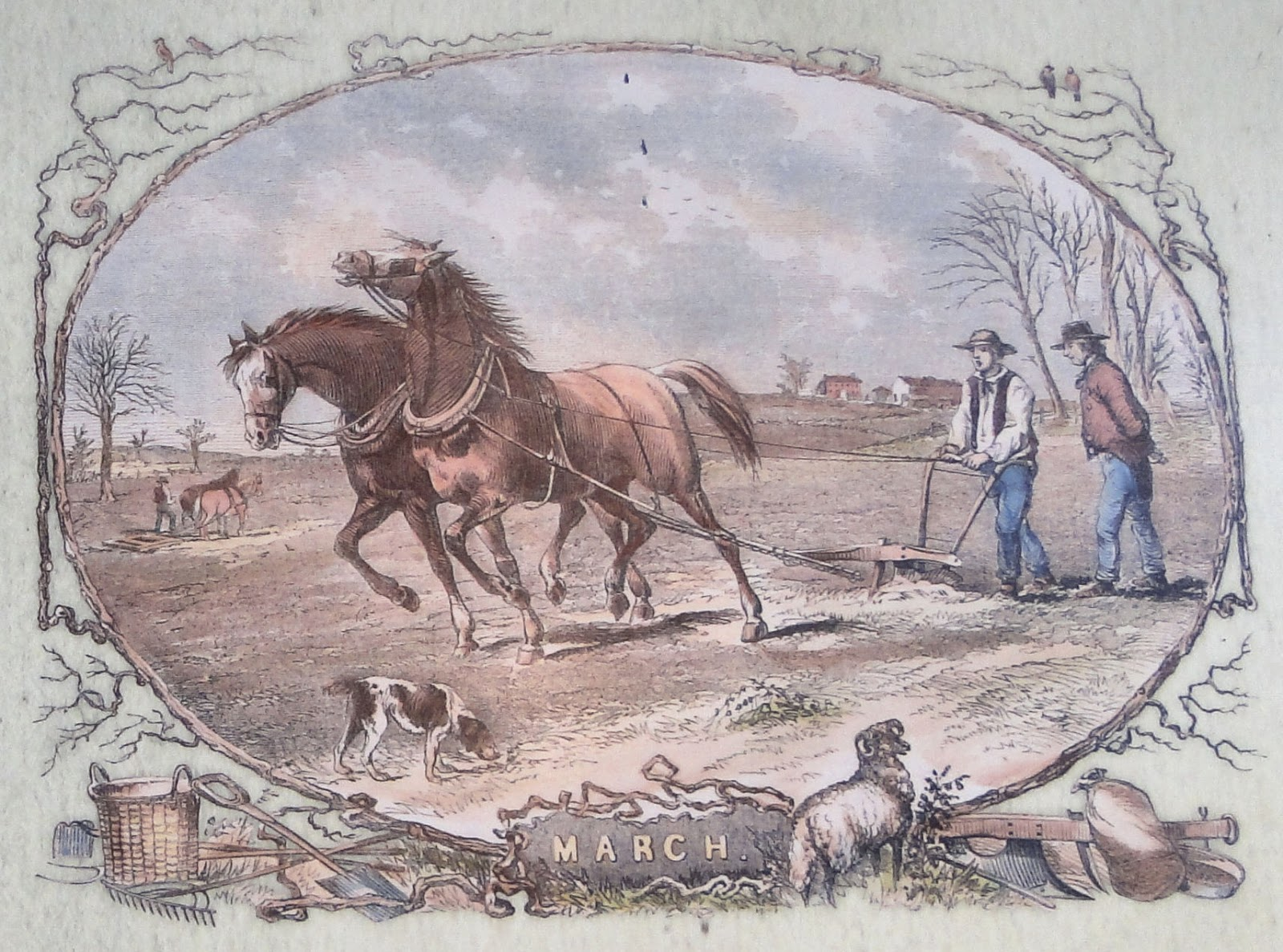 Passion for the Past: Early Farming & Farm Tools From Days