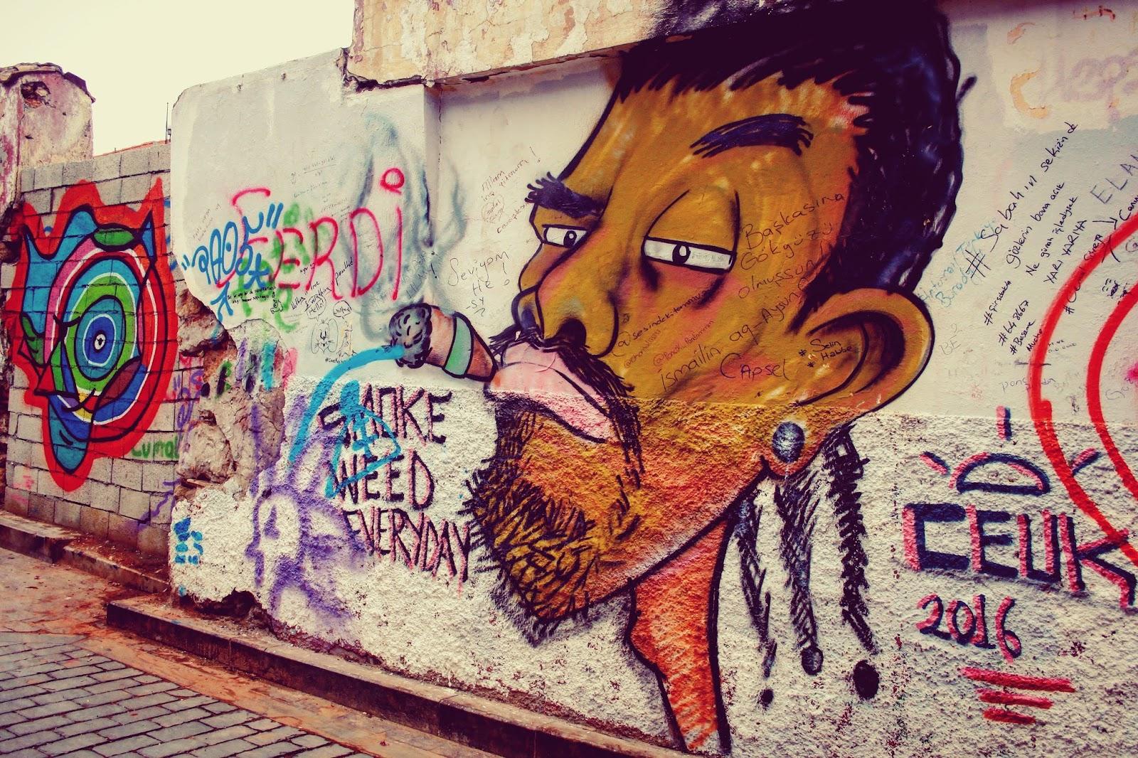 Okuyan Mi Daha çok Bilir Yoksa Gezen Mi Rengarenk Duvar Resimleri