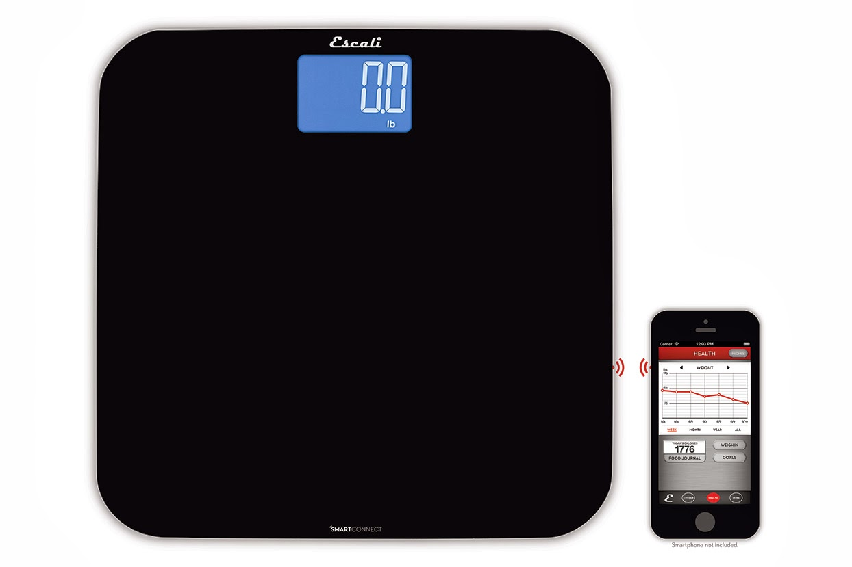 iphone scale app new smartconnect scale from escali with bluetooth 174 le 3466