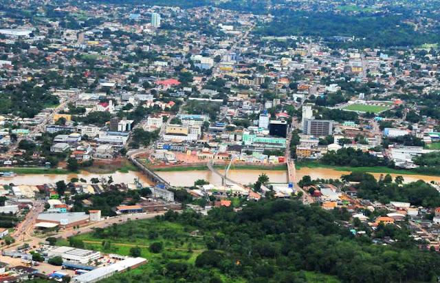Vista aérea de Rio Branco - Acre