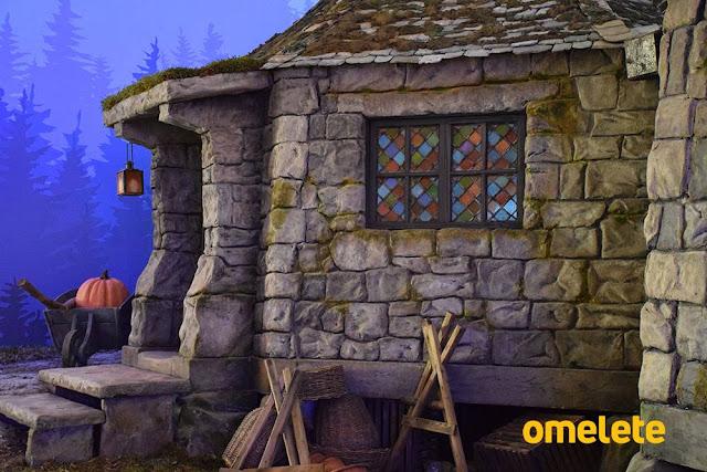 Veja fotos com os detalhes da Cabana do Hagrid na CCXP 2018 | Ordem da Fênix Brasileira