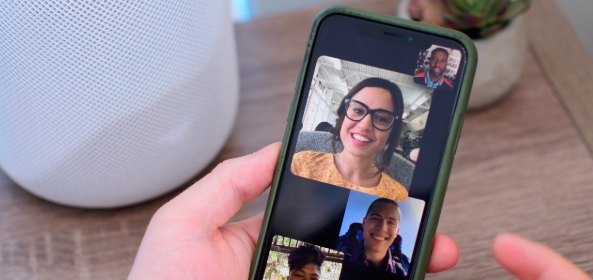 How to facetime multiple people on ios 12