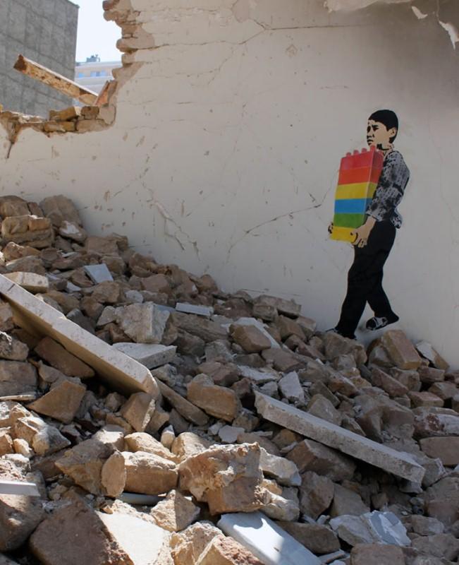 Уличные художники из Ирана. ICY и SOT 28