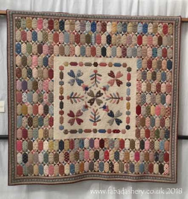 'Beamish Quilt' by Lynne Johnson Little Coxwell Quilters - Feature Display at Spalding, December 2018
