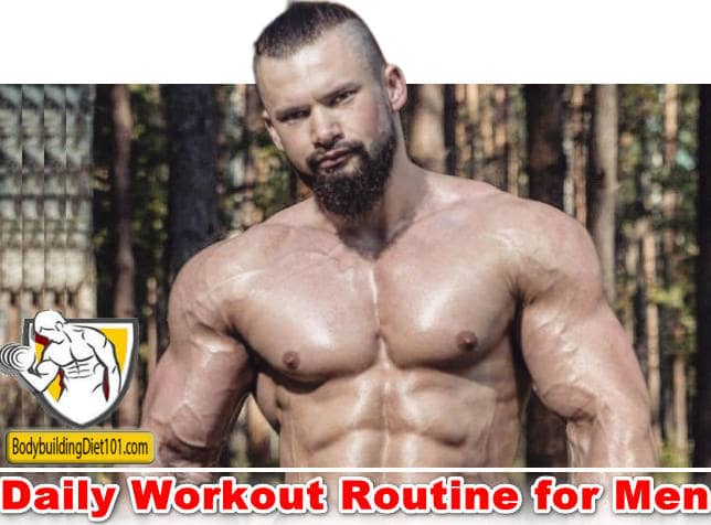 Push Yourself to a Better Body – Daily Workout Routine for Men