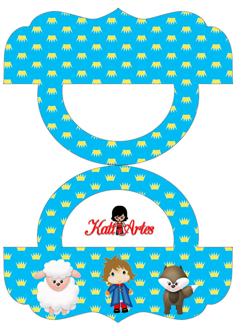 The Little Prince: Free Printable Candy Bag Label.