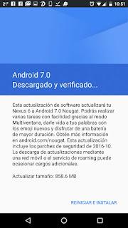 androidNougatVerificacion