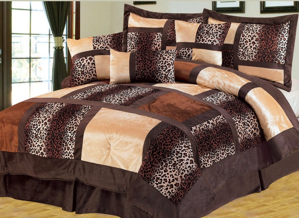 Bedroom decor ideas and designs top ten animal pattern for Cheetah themed bedroom ideas