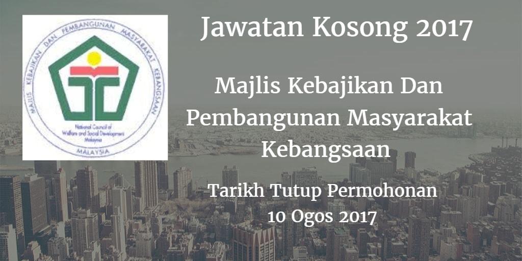Jawatan Kosong MAKPEM 10 Ogos 2017