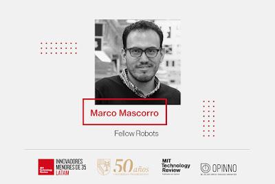 Marco Mascorro, amante robótica