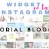 Tutorial Blogger: Poner Gadget de Instagram en el blog