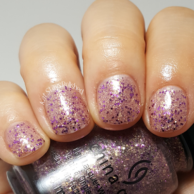 China Glaze Seas and Greetings - Let's Shell-Ebrate | Kat Stays Polished