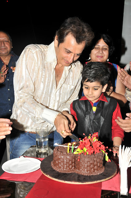 Avinash Wadhawan & Son Samraat Birthday Bash
