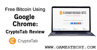 Earn Free Bitcoin Using CryptoTab