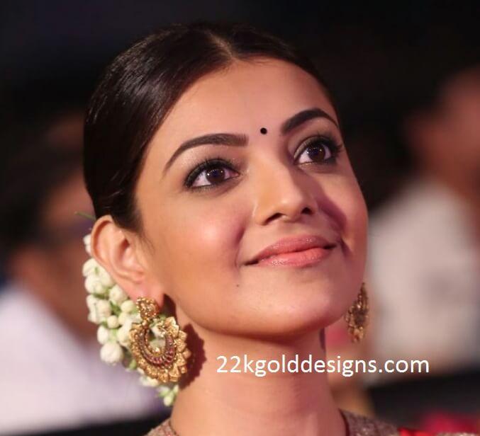 Kajal Aggarwal in Krsala Earrings