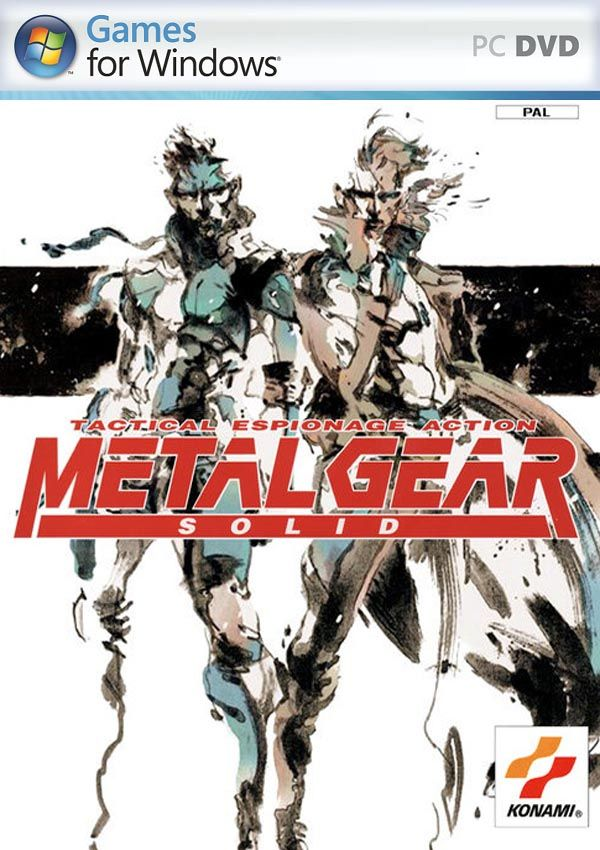 Metal Gear Solid 1 Download Cover Free Game