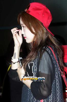 Hyomin T-Ara Tatto
