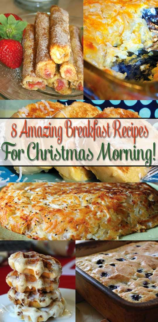 8 AMAZING BREAKFAST RECIPES FOR CHRISTMAS MORNING! - HANDY DIY