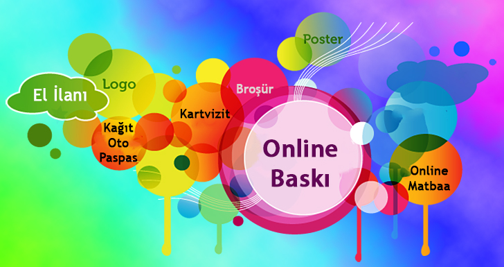 Online Baskı İçin Seçenekler