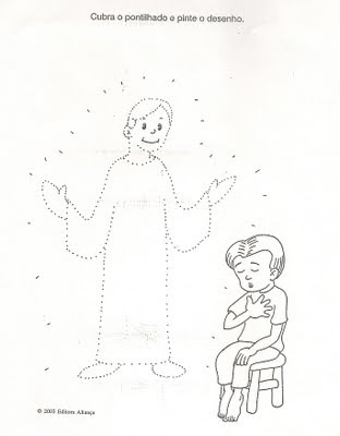 Escolinha Espírita: ATIVIDADE II Anjo da guarda