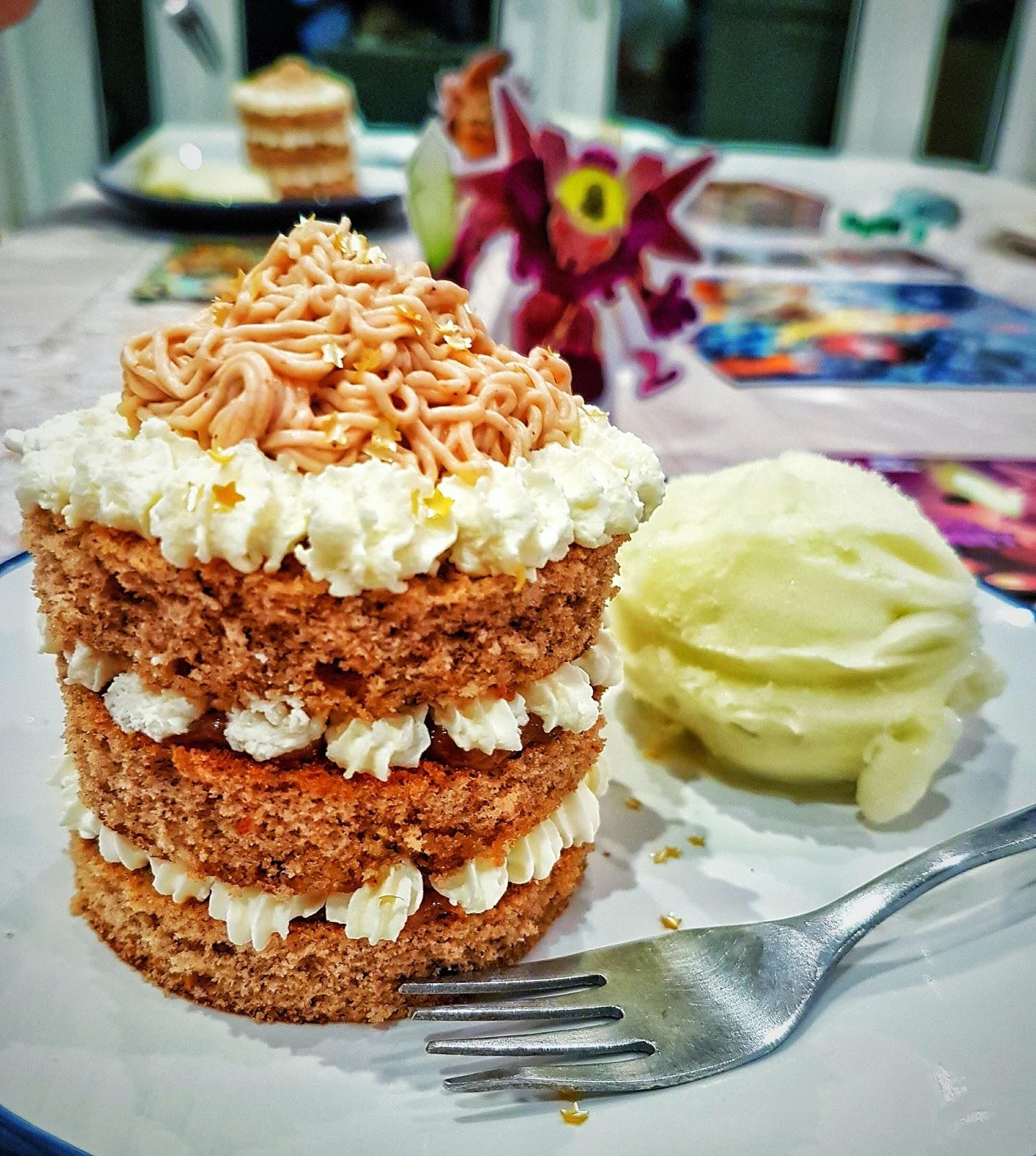 Mini mont blanc cakes recipe for Mont blanc recipe