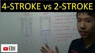 perbedaan mesin 4 langkah dan 2 langkah