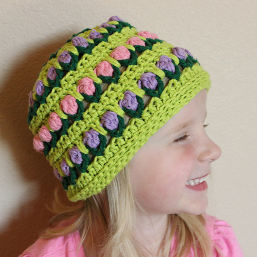 Field of Flowers Hat – Free Pattern