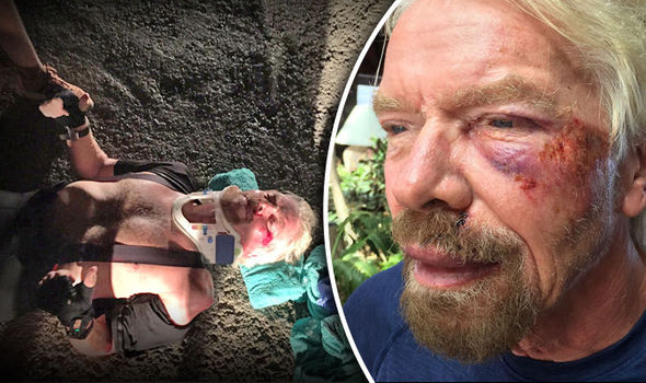 I-thought-i-was-going-to-die---says-Billionaire-Richard-Branson,-who-almost-got-himself-killed-in-bike-crash