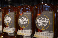 Buy whiskey, moonshine and souvenirs in the Smokies