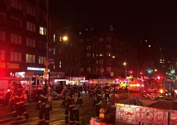 29 τραυματίες από έκρηξη στη Νέα Υόρκη (βίντεο)