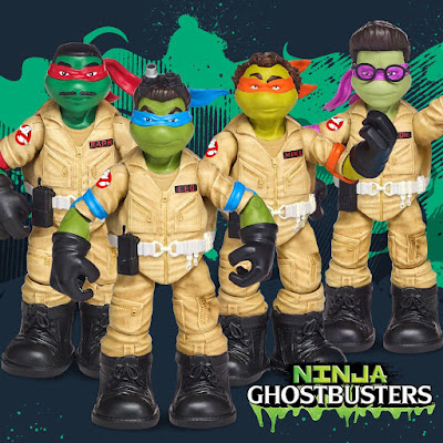"San Diego Comic-Con 2017 First Look Ninja Turtles x Ghostbusters ""Ninja Ghostbusters"" Action Figures by Playmates"