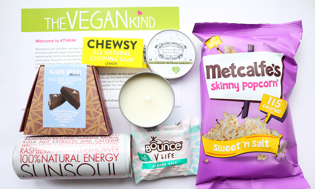 The Vegan Kind Box - June 2017 review #TVK44