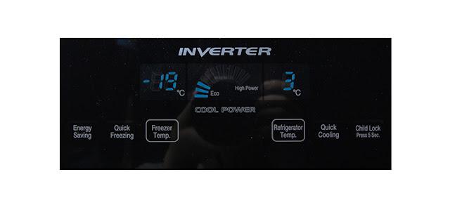 Cách sử dụng bảng điều khiển tủ lạnh Hitachi R-WB475PGV2 405 lít