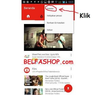 Cara Blokir Konten Porno di Youtube Android 02
