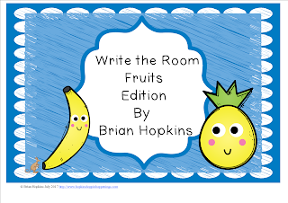 FREEBIE Write The Room Fruits Beginning Sounds