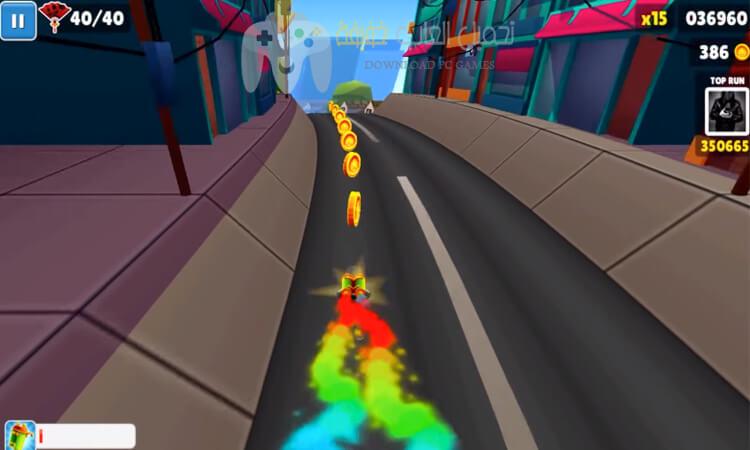 تحميل لعبة Subway Surfers للكمبيوتر وللموبايل