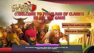 Download COC MOD APK FHX Server Indonesia Terbaru