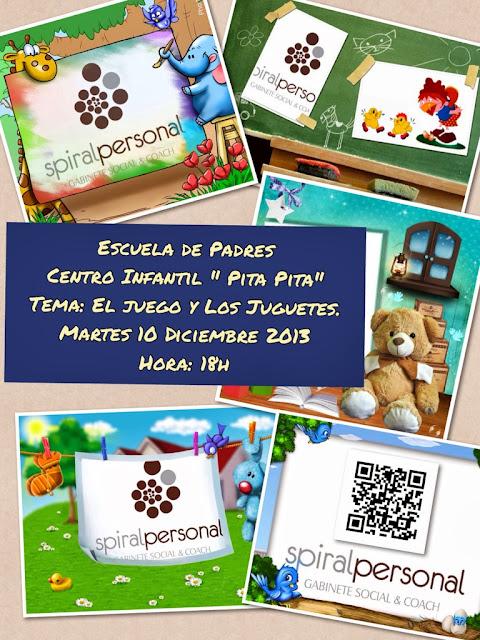 """Escuela de Padres """" Pita Pita """". Tema: El Juego y Los Juguetes"""