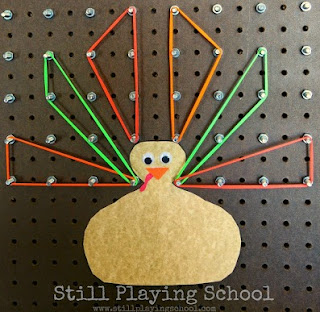Thanksgiving Geoboard