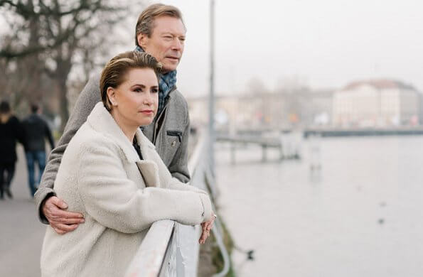 Grand Duke Henri released a statement defending his wife Grand Duchess Maria Teresa. Princess Stephanie is expecting a baby boy