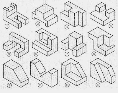 Jacob Romeo EDU: Isometric drawing for concept design