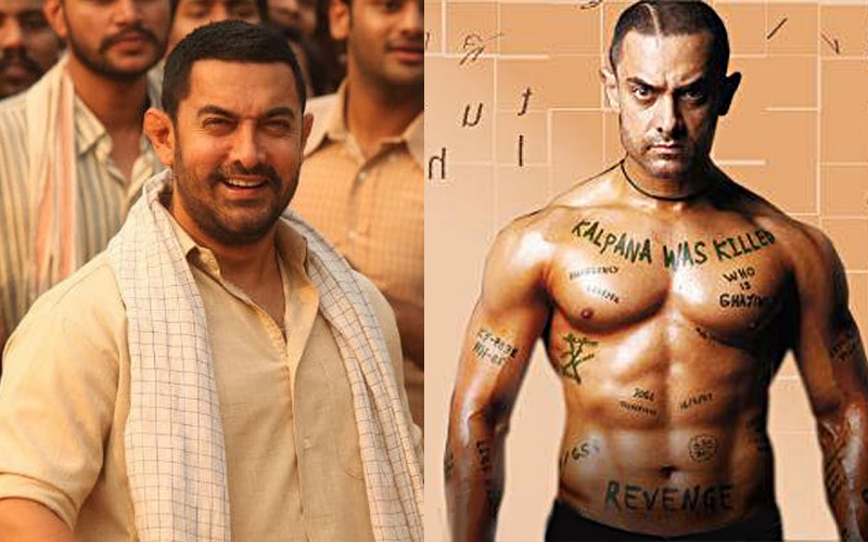 Aamir Khan different looks and transformation