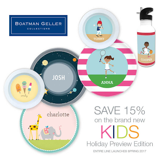 New personalized kids collection at Boatman Geller