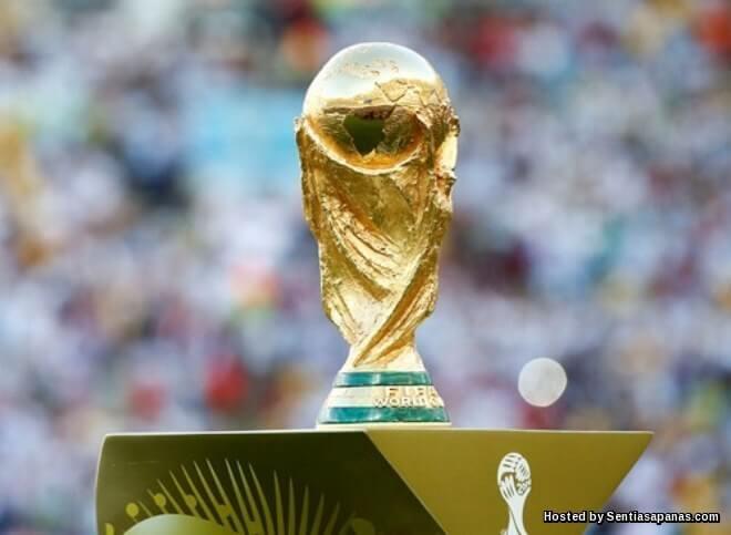 Trofi Piala Dunia FIFA Gold