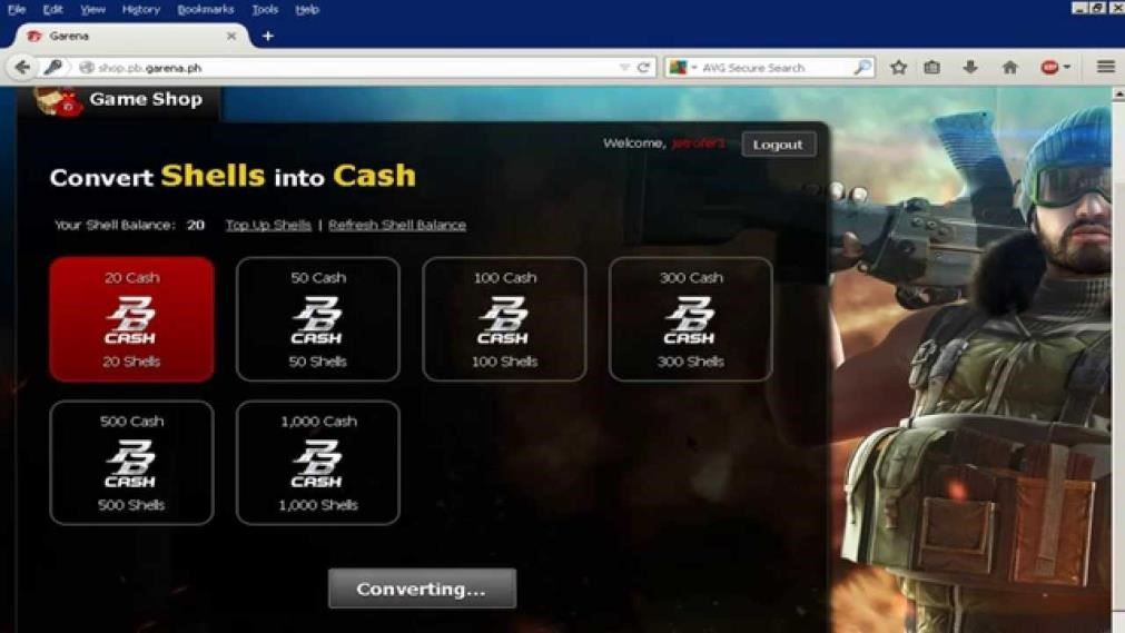 cara top up point blank garena