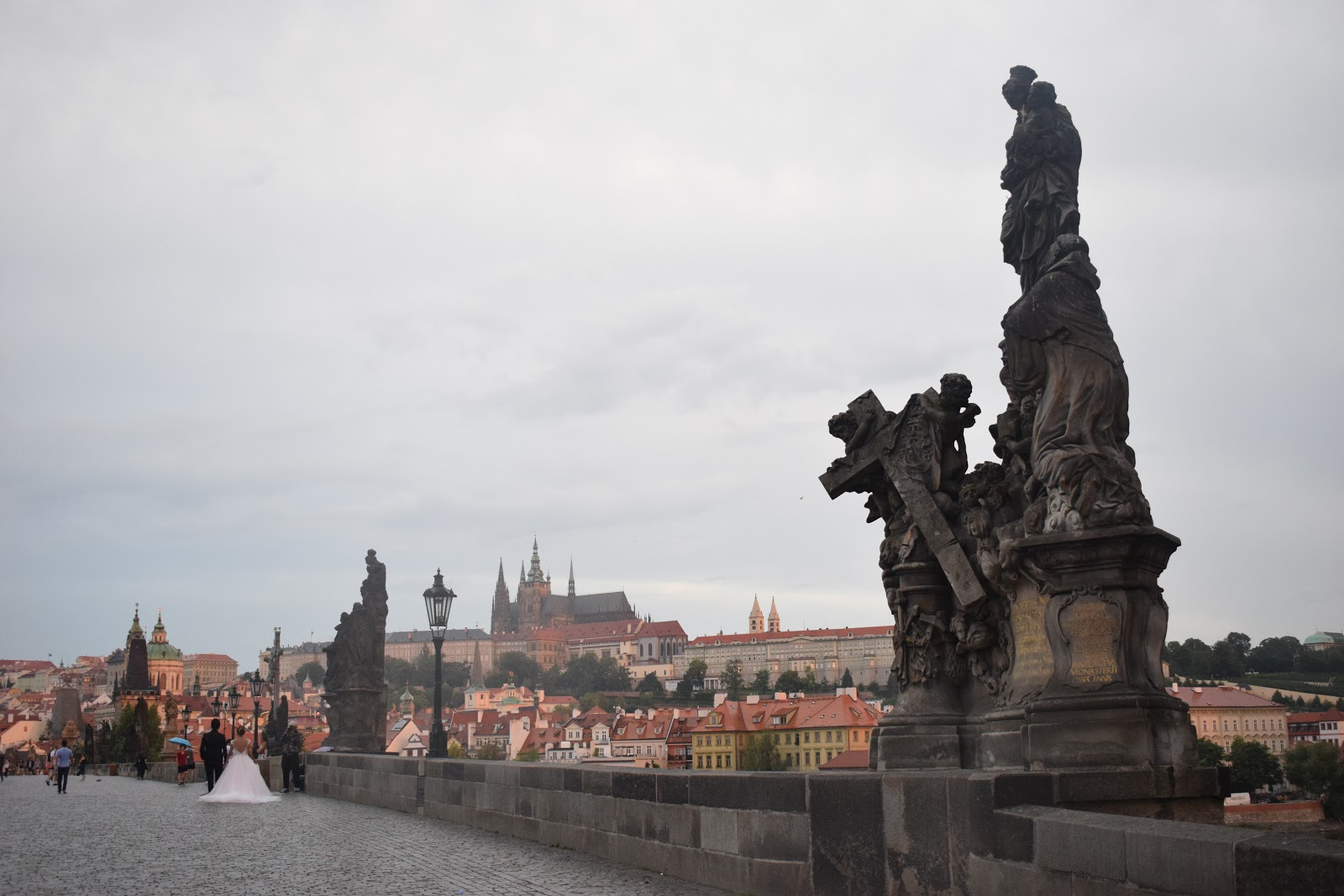 prague pont vue
