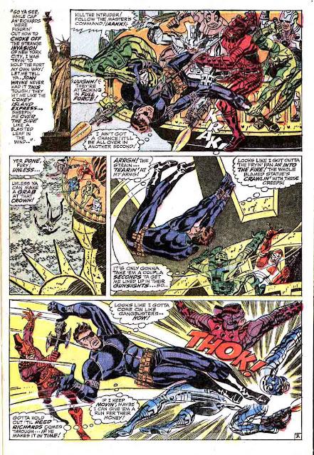 Strange Tales v1 #161 nick fury shield comic book page art by Jim Steranko