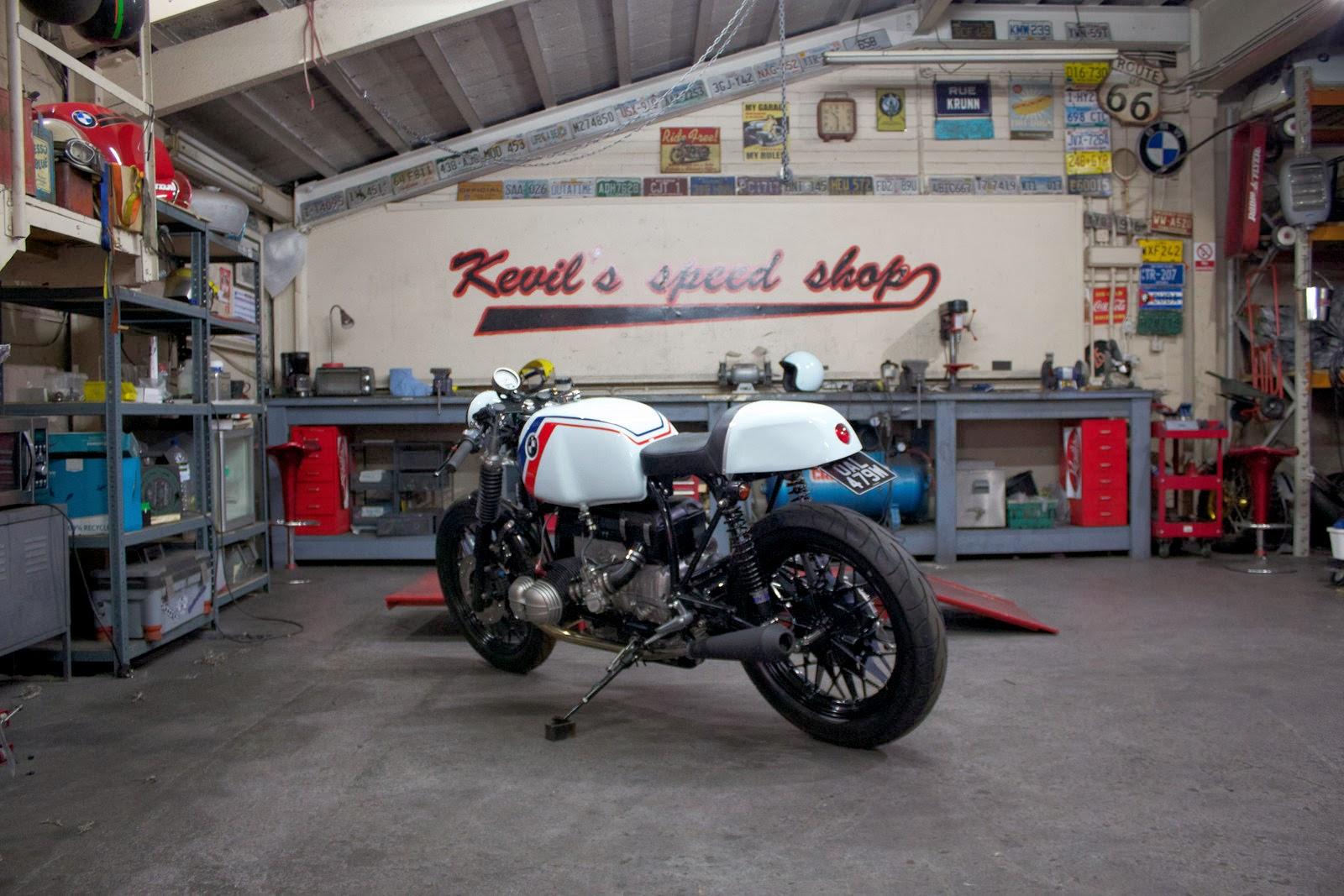 Racing Caf U00e8  Bmw R80  U0026quot Speedster U0026quot  By Kevils Speed Shop